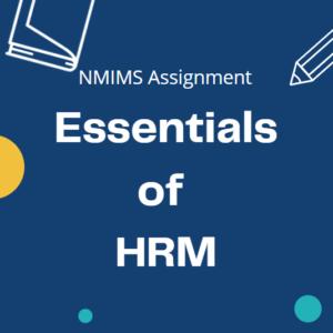 essentials of hrm
